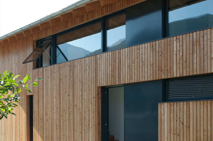 Fassaden Ideen fassaden ideen schick in schale mit holzprofilen netzwerkholz